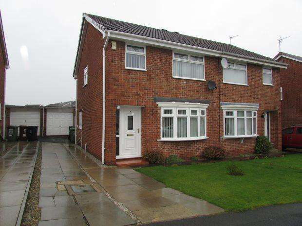 3 Bedrooms Semi Detached House for sale in BLACKWOOD CLOSE, CLAVERING, HARTLEPOOL