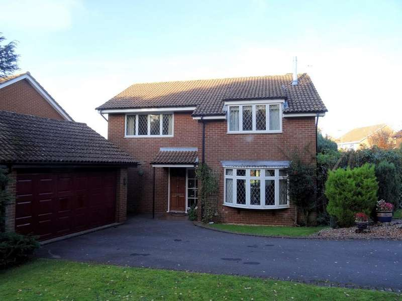 4 Bedrooms Detached House for sale in Sonning Close, Kempshott