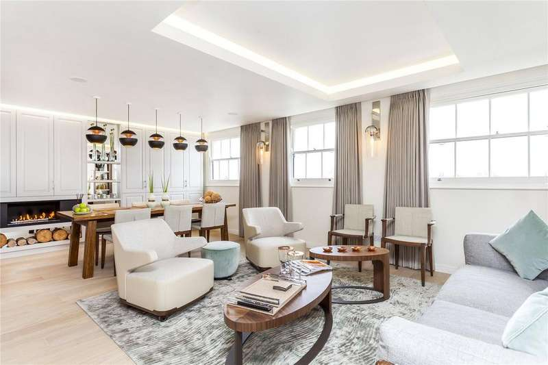 2 Bedrooms Penthouse Flat for sale in Hyde Park Gardens, London, W2