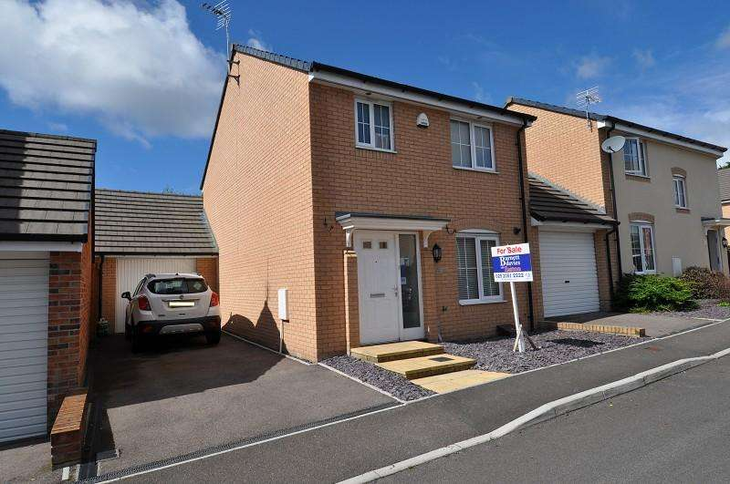 3 Bedrooms Detached House for sale in 9 Golwg Y Coed , Barry, The Vale Of Glamorgan. CF63 1AD