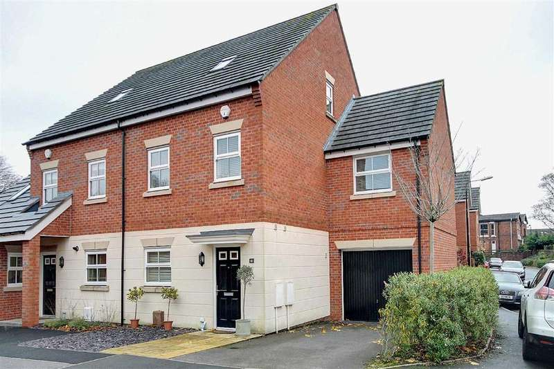4 Bedrooms Semi Detached House for sale in Albert Place, Altrincham, Cheshire