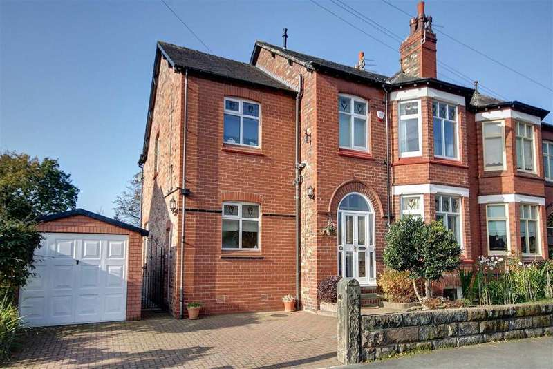 4 Bedrooms Semi Detached House for sale in Cecil Road, Hale, Cheshire