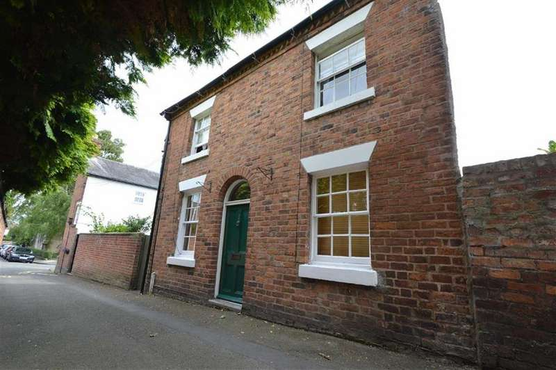 2 Bedrooms Detached House for sale in Hermitage Walk, Mountfields, Shrewsbury