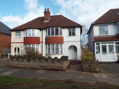 3 Bedrooms Semi Detached House for sale in Foden Road, Great Barr, Birmingham, West Midlands