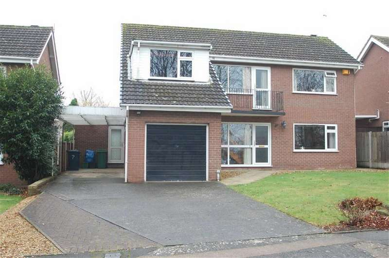 4 Bedrooms Detached House for sale in Merlin Road, Copthorne, Shrewsbury