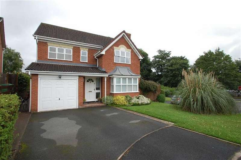 4 Bedrooms Detached House for sale in Hemsworth Way, Ellesmere Road, Shrewsbury