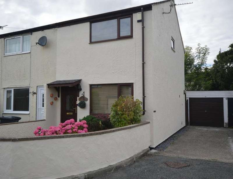 2 Bedrooms End Of Terrace House for sale in Tyn Rhos Estate, Gaerwen, North Wales