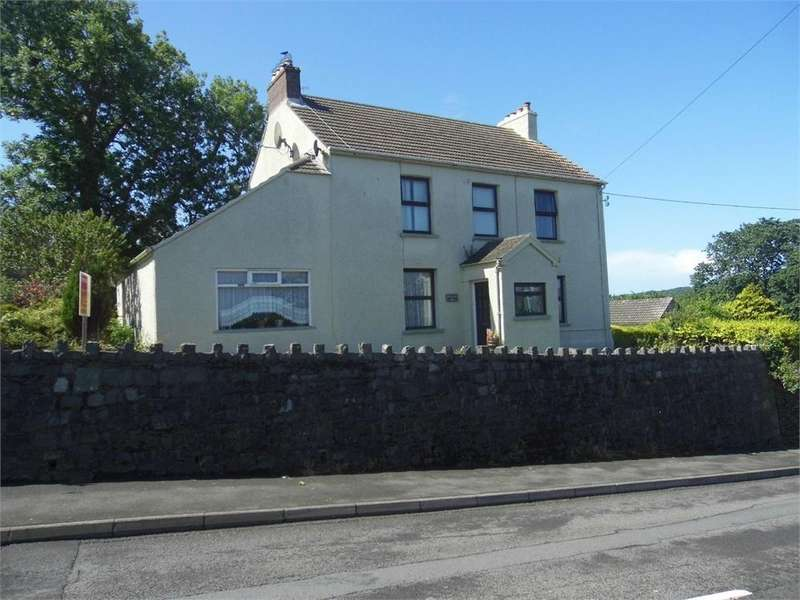 4 Bedrooms Detached House for sale in Windy Hall House, Windy Hall, Fishguard, Pembrokeshire