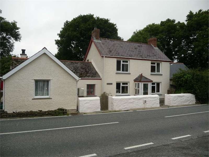 5 Bedrooms Detached House for sale in Newfoundland, Brynberian, Crymych, Pembrokeshire