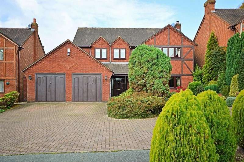 4 Bedrooms Detached House for sale in Squires Gate, Burntwood, Staffordshire
