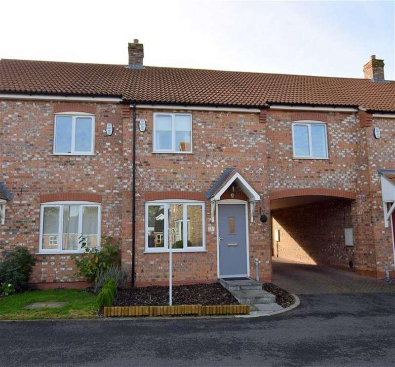 2 Bedrooms Terraced House for sale in Saxonfields Drive, Stallingborough, North East Lincolnshire