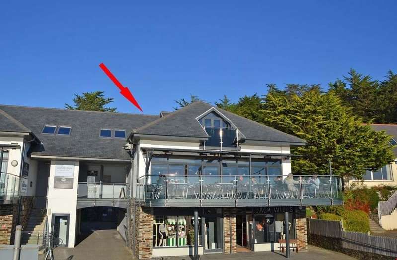 2 Bedrooms Penthouse Flat for sale in Rock Waterfront, Camel Estuary, Nr. Wadebridge, North Cornwall, PL27