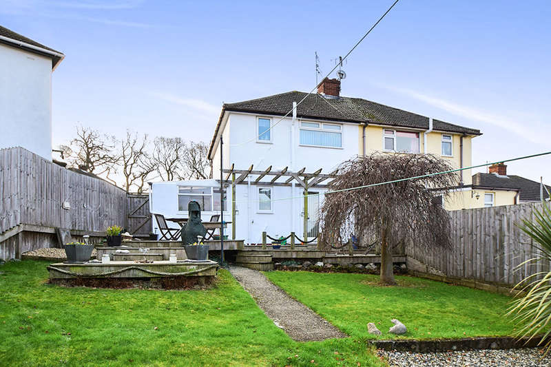 3 Bedrooms Semi Detached House for sale in Haldon Close, Newton Abbot, TQ12