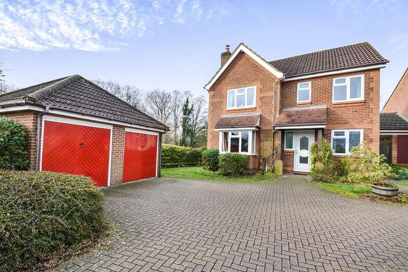 4 Bedrooms Detached House for sale in Barnfield Rise, Andover, SP10