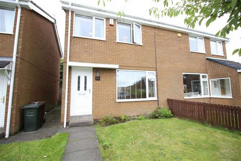3 Bedrooms Semi Detached House for sale in Warwick Court, Newcastle Upon Tyne, NE3