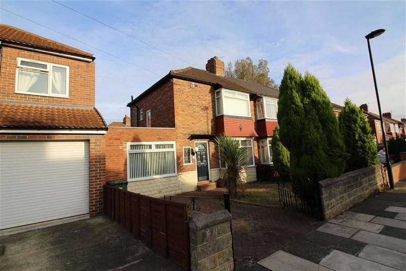 2 Bedrooms Semi Detached House for sale in Sherfield Drive, Newcastle Upon Tyne, NE7