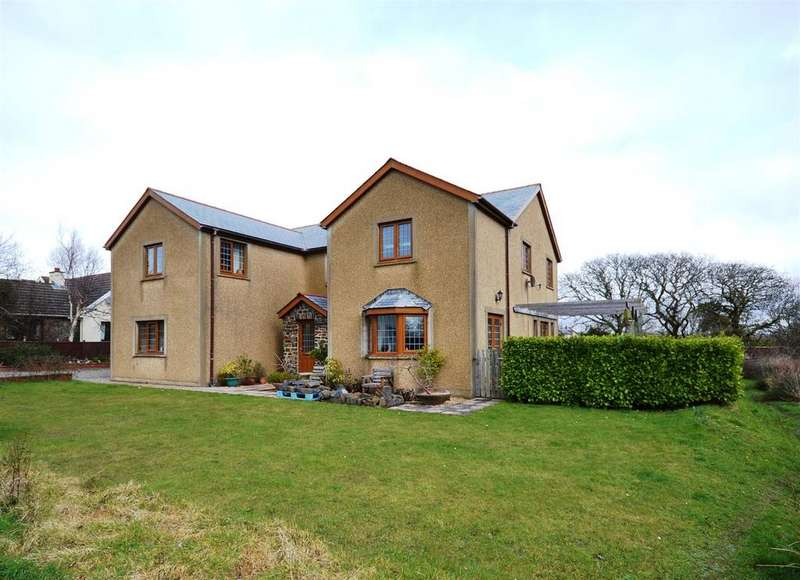 5 Bedrooms Detached House for sale in Hook, Haverfordwest
