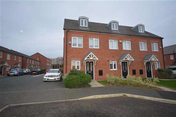 3 Bedrooms Town House for sale in Magazine Road, Brombrough