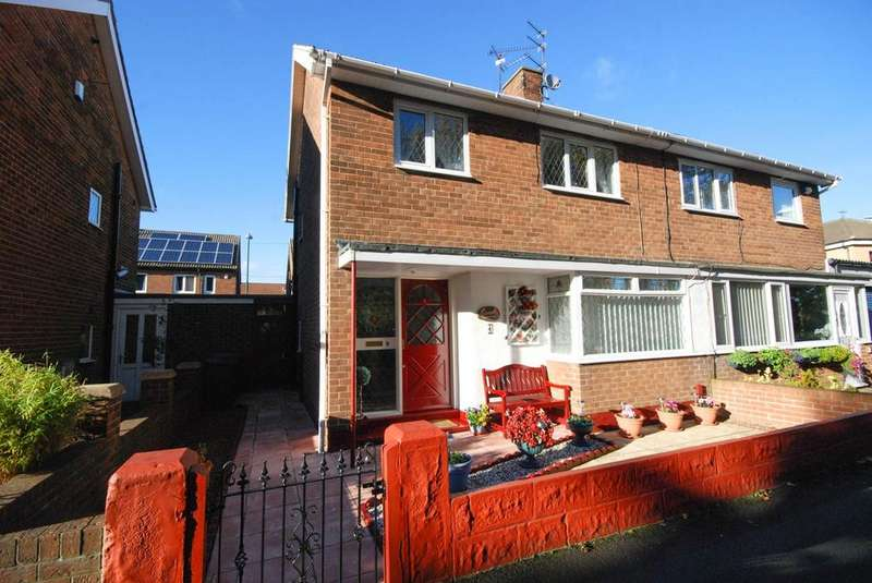 3 Bedrooms Semi Detached House for sale in Hope Street, Jarrow