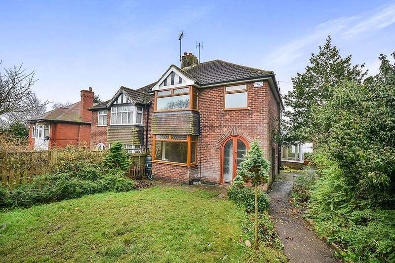 3 Bedrooms Semi Detached House for sale in Church Hill, Kirkby-In-Ashfield, Nottingham, NG17
