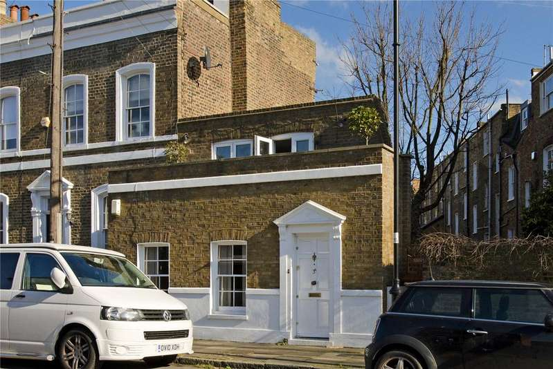 2 Bedrooms End Of Terrace House for sale in St Philip's Way, Islington, London