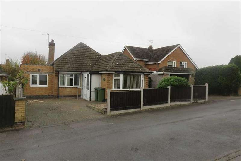 2 Bedrooms Detached Bungalow for sale in Pine Road, Glenfield