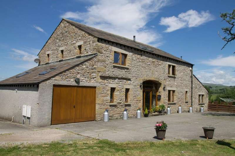 3 Bedrooms Barn Conversion Character Property for sale in Kirksteads Barn, Ingleton, LA6 3DU