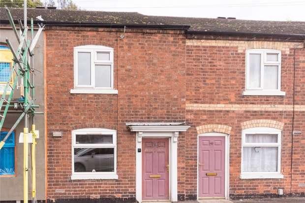 1 Bedroom Terraced House for sale in Upper St John Street, Lichfield, Staffordshire