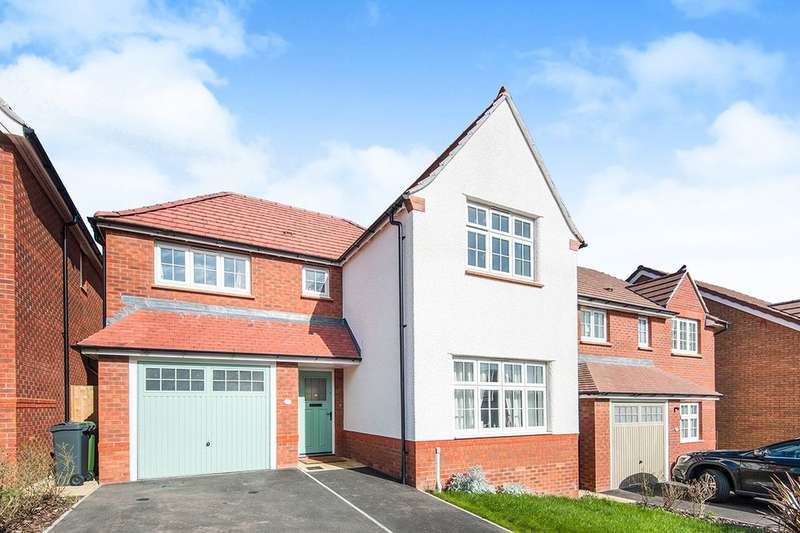 4 Bedrooms Detached House for sale in Finning Avenue, Exeter, EX4