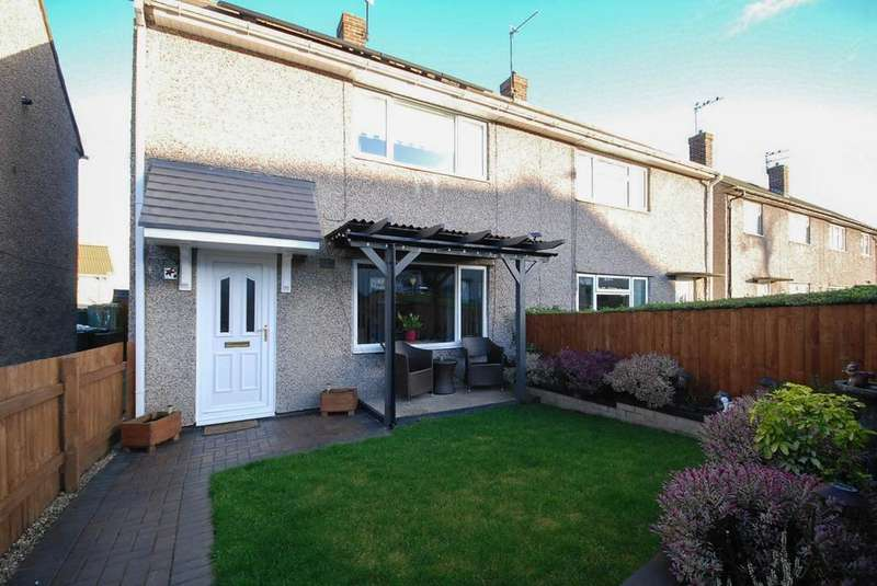 2 Bedrooms Semi Detached House for sale in Heugh Hill, Springwell Village