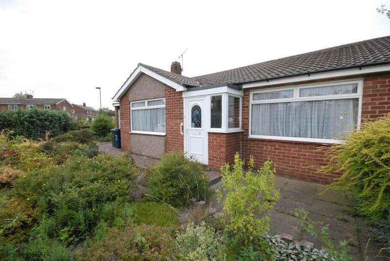 2 Bedrooms Bungalow for sale in Hauxley Drive, Gosforth