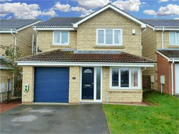 4 Bedrooms Detached House for sale in De Merley Gardens, Widdrington, Morpeth, Northumberland