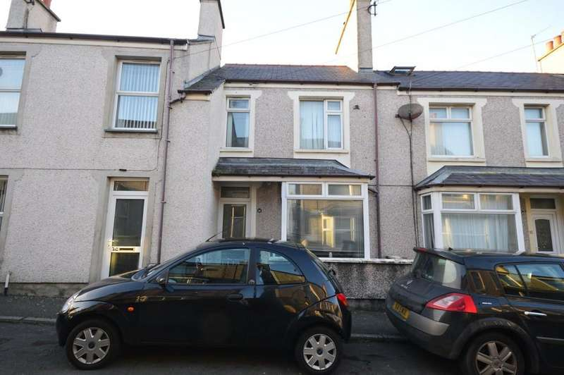 3 Bedrooms Terraced House for sale in Ucheldre Avenue, Holyhead, North Wales