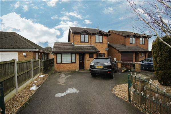 4 Bedrooms Detached House for sale in Leek Road, Cellarhead, Stoke-on-Trent
