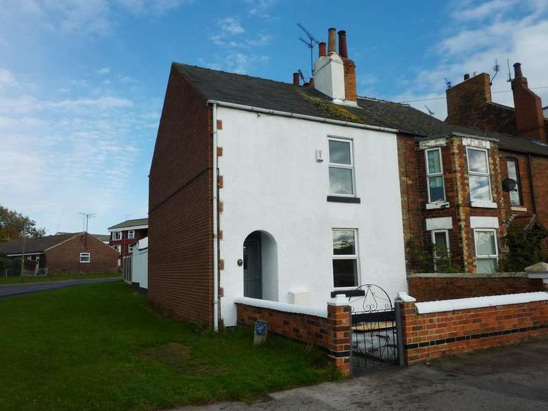2 Bedrooms End Of Terrace House for sale in London Road, Retford