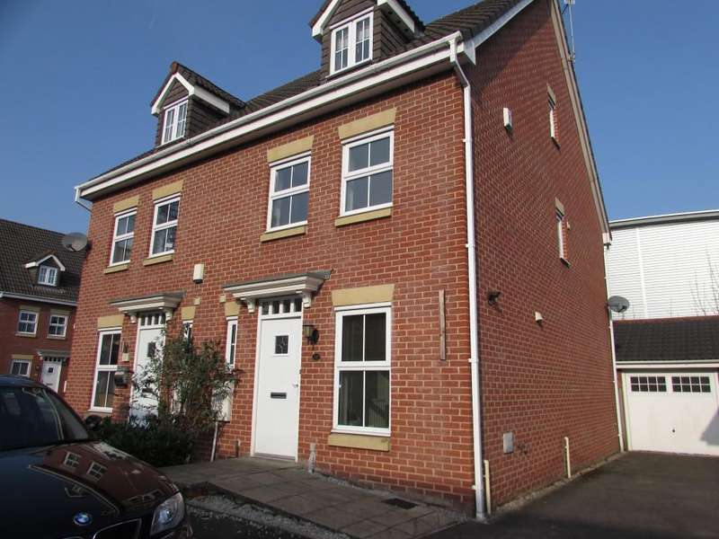 3 Bedrooms Semi Detached House for sale in Edgecote Close, Manchester