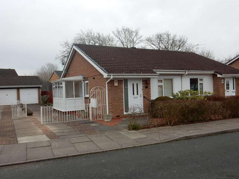 2 Bedrooms Semi Detached Bungalow for sale in Swinburn Drive, Carlisle