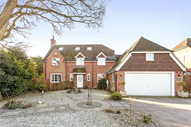 6 Bedrooms Detached House for sale in Rainbow Cottage, Woolton Hill, Newbury, Berkshire