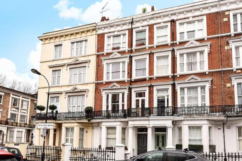 1 Bedroom Flat for sale in Maclise Road, Brook Green, W14