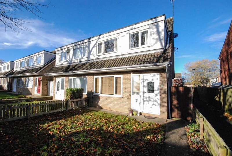 3 Bedrooms Semi Detached House for sale in Gloucester Court, Kingston Park
