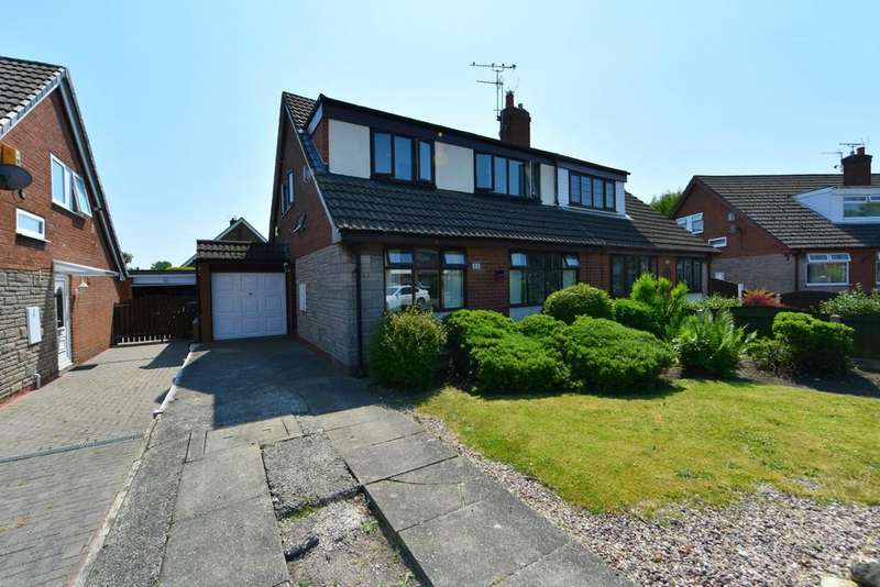 3 Bedrooms Semi Detached House for sale in Tiverton Avenue, Old Skelmersdale