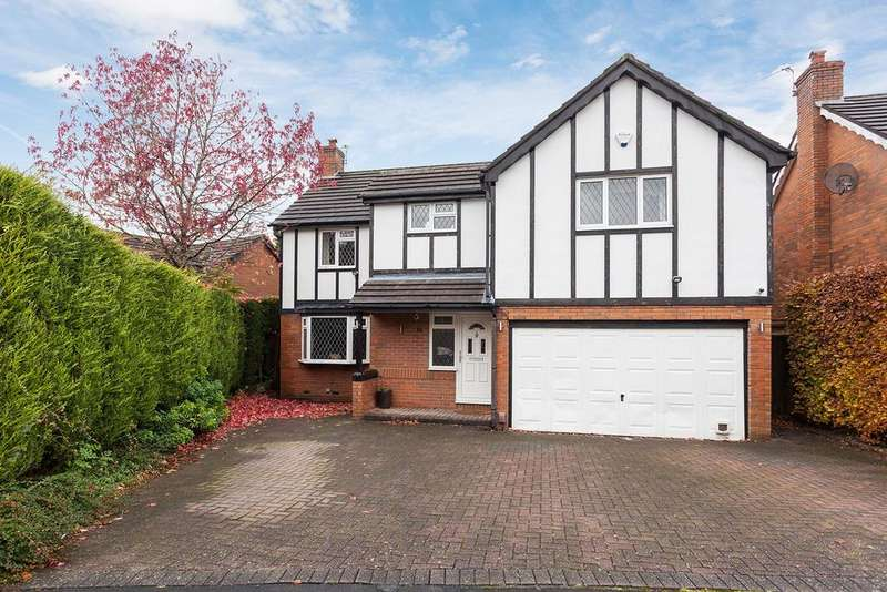 4 Bedrooms Detached House for sale in The Copse, Marple Bridge