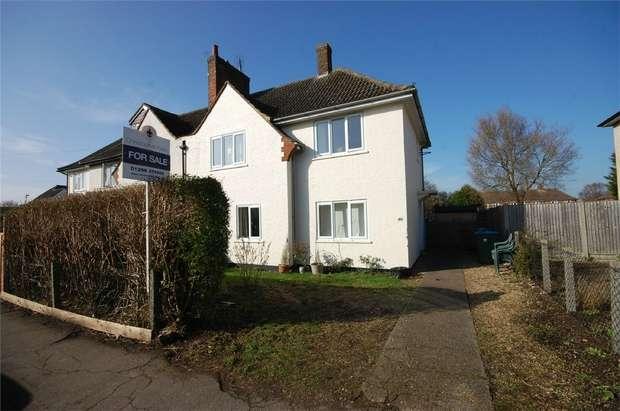 3 Bedrooms Semi Detached House for sale in Hampden Road, Aylesbury, Buckinghamshire