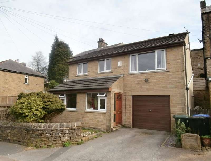 4 Bedrooms Detached House for sale in Low Spring House Low Spring Road, Keighley, BD21