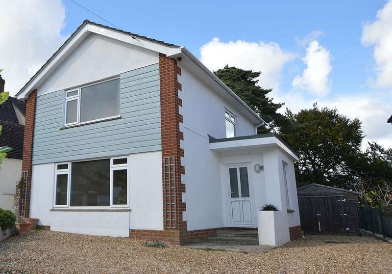 4 Bedrooms Detached House for sale in Brackendale Road, Bournemouth, BH8