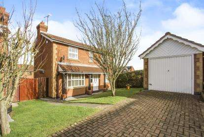 3 Bedrooms Detached House for sale in James Gavin Way, Oadby, Leicester, Leicestershire