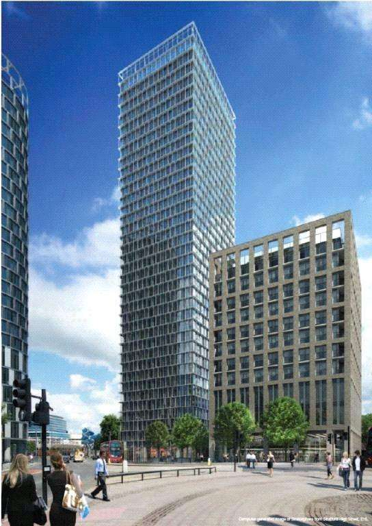 2 Bedrooms Flat for sale in Stratosphere, Stratford, London, E15