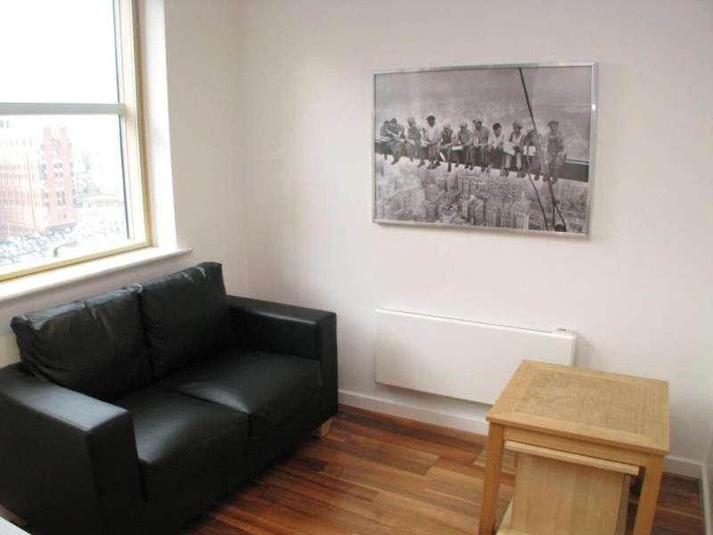 Studio Flat for sale in West Point, Wellington Street, Leeds, LS1