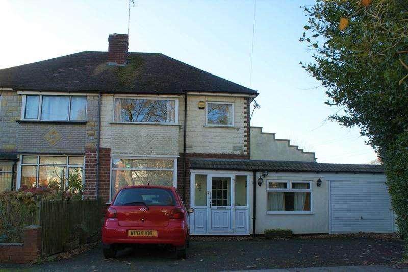 3 Bedrooms Semi Detached House for sale in Ridgacre Road West, Quinton, Birmingham