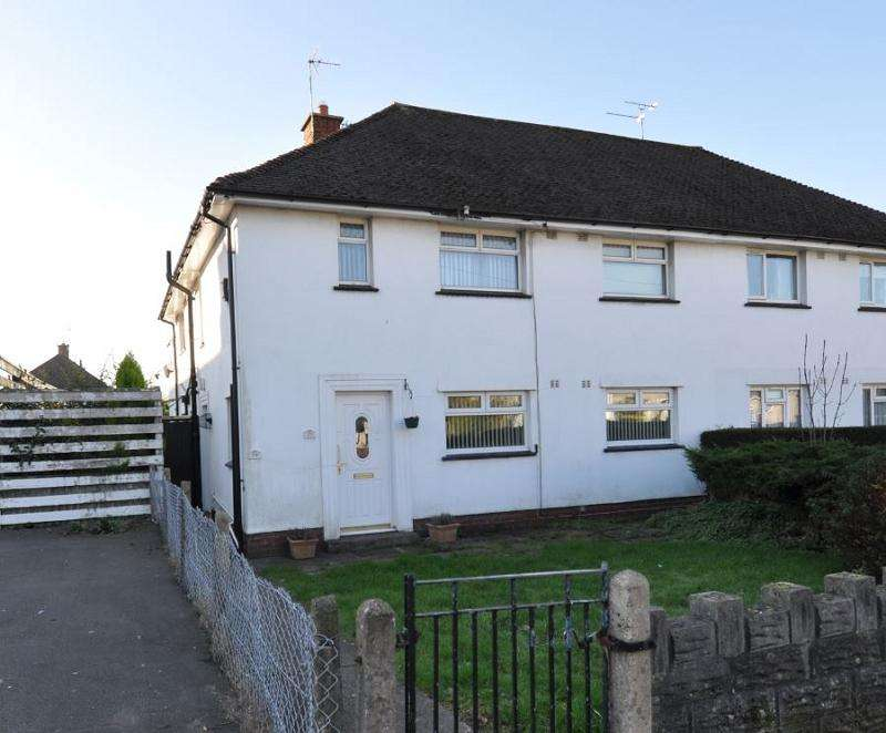 2 Bedrooms Ground Flat for sale in Murch Road, Dinas Powys, The Vale Of Glamorgan. CF64 4NJ